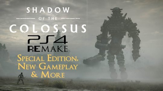 Shadow of the Colossus Special Edition & New Gameplay!