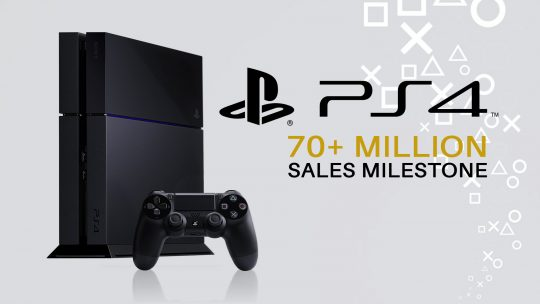 Sony PlayStation 4 Sells Over 70 Million Units!