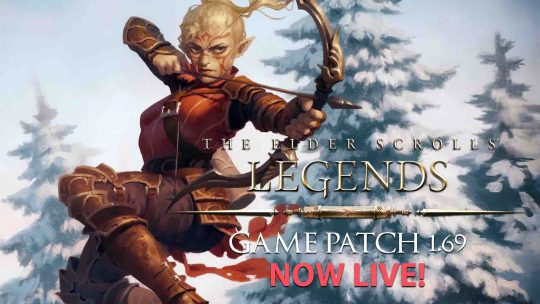 The Elder Scrolls: Legends Update 1.69 Live!