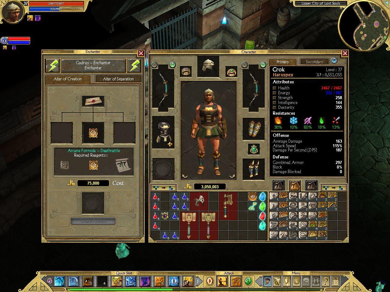 Titan Quest Immortal Throne Builds Best