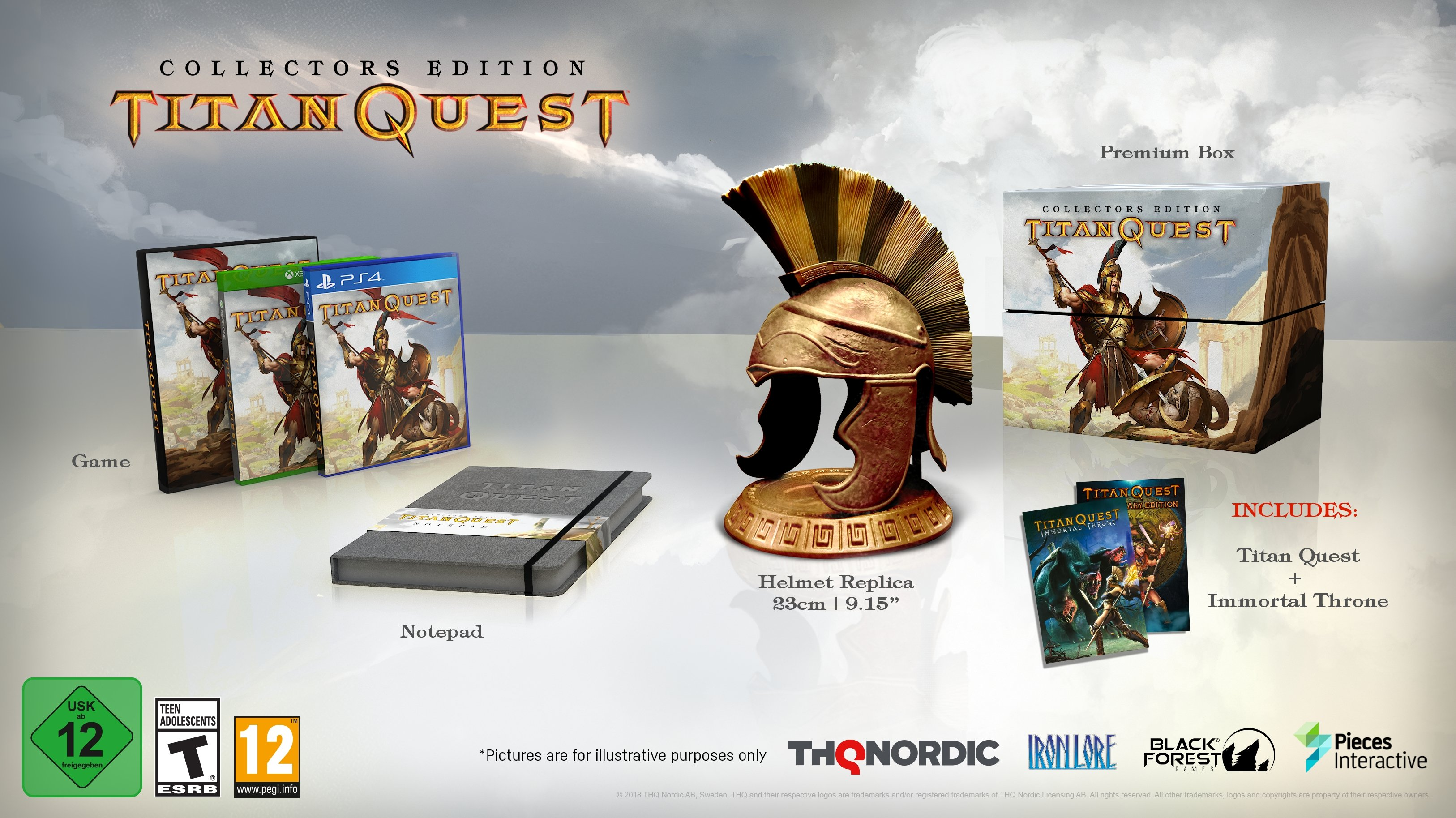 Titan Quest Coming to PS4, Xbox One & Nintendo Switch in