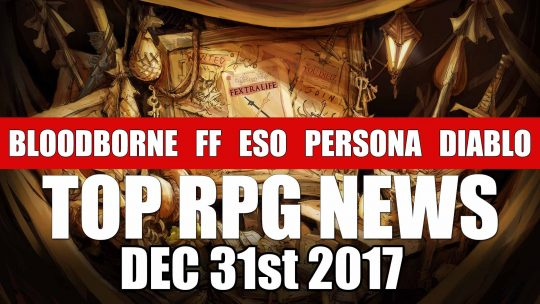 RPG News Weekly Round Up – December 31st, 2017