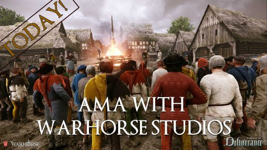 Kingdom Come: Deliverance AMA Today