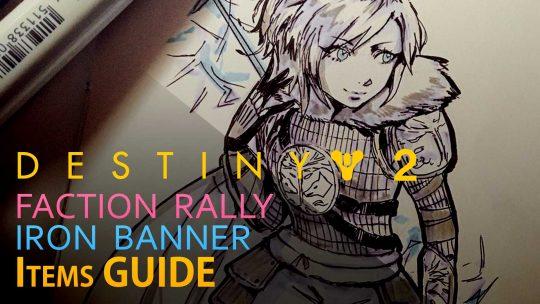 Destiny 2 Guide – All 'Iron Banner' & 'Faction Rally' Items [Season 2]