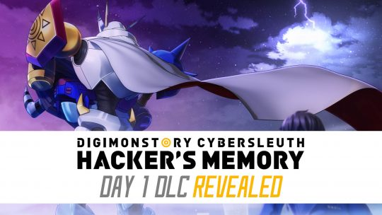 Digimon Story: Cyber Sleuth Hacker's Memory Day 1 DLC & More Revealed!