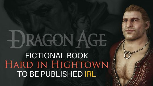 Dragon Age's Varric Getting Book Published IRL!