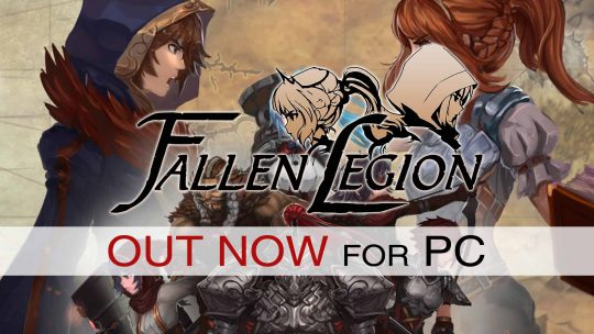 Fallen Legion Action-RPG Out Now On Steam!