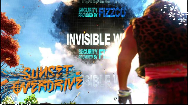 invisible walls invisible barrier sunset overdrive