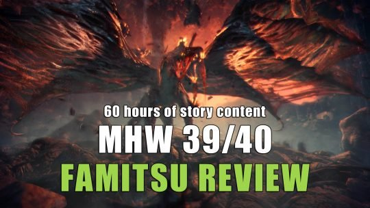 Famitsu review for Monster Hunter World gives almost perfect score