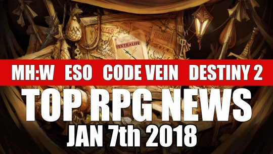 RPG News Weekly Round Up – January 7th, 2018