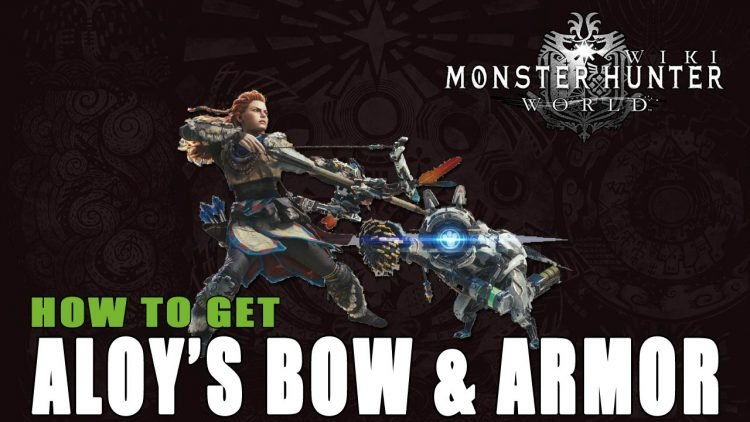 Monster Hunter World: How to Get Aloy's Armor and Bow