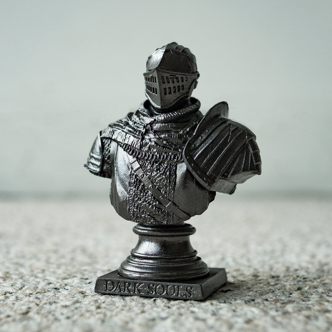 Elite knight bust and ps theme for dark souls remastered