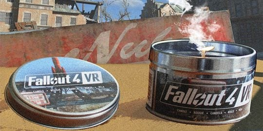 The Fallout: Eau De Vault VR candle is out now.