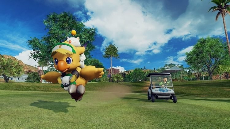 Final Fantasy Characters Appearing in Everybody's Golf