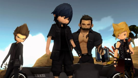 Final Fantasy XV: Pocket Edition's now available to download