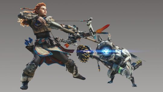 How to unlock exclusive Horizon: Zero Dawn hunter gear in Monster Hunter World