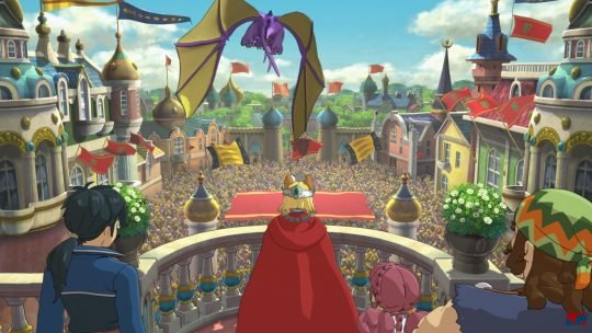 Ni no Kuni II: Revenant Kingdom Goldpaw & Hyrdropolis Tour trailers