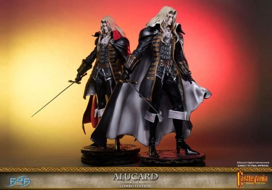 New Castlevania: Symphony of the Night figure: First 4 Figures giveaway
