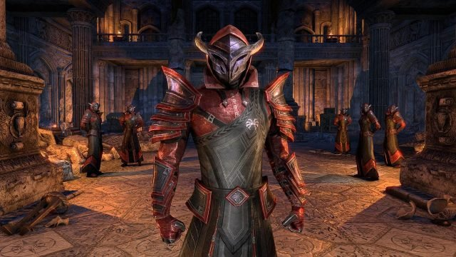 Elder Scrolls Online: Summerset Court of Bedlam Costume
