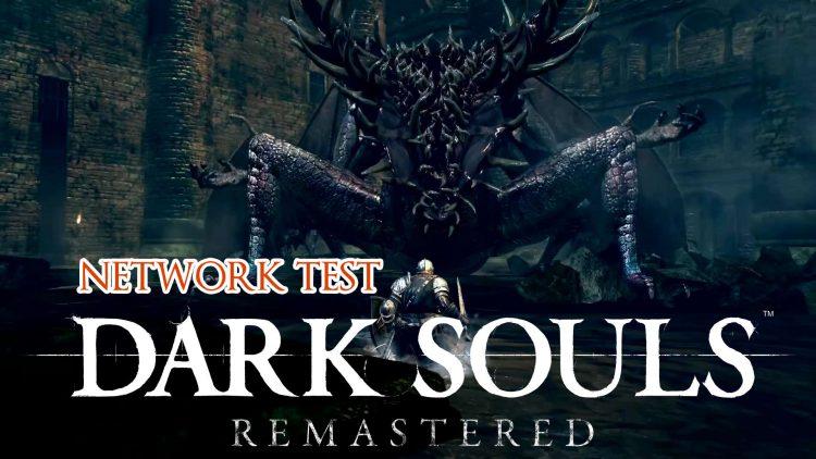 Test de réseau pour toutes les plateformes supportant Dark Souls Remastered et première vidéo de gameplay.