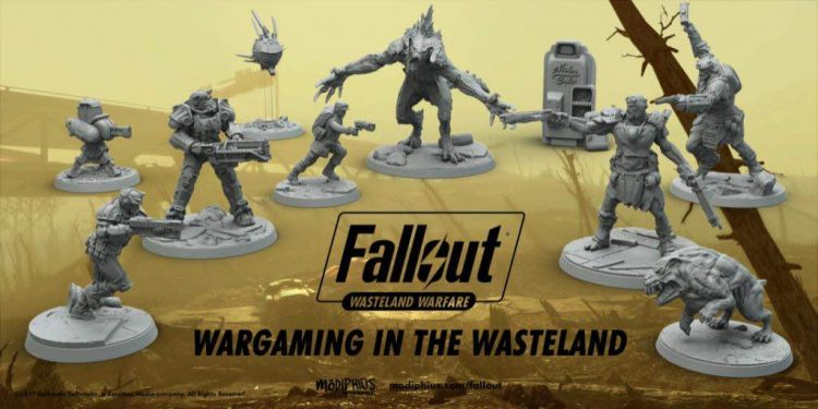 Fallout: Wasteland Warfare is now available to pre-order!