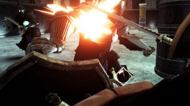 Can you handle the intense combat of Gargantua in VR?