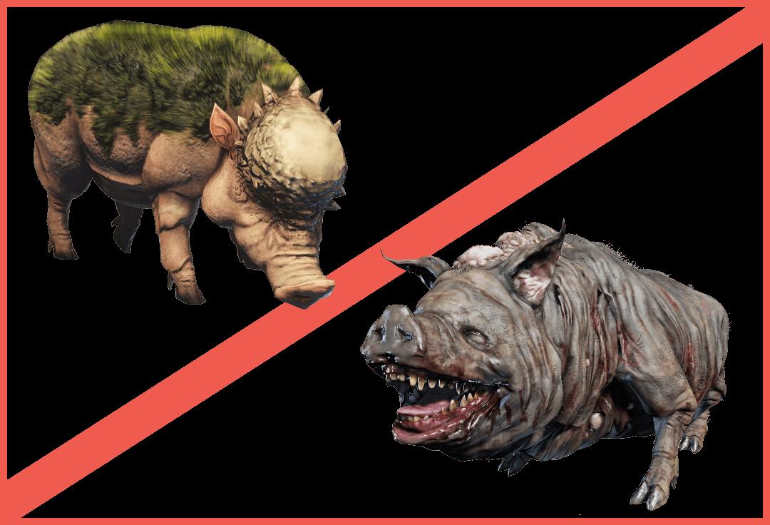 dark souls how to kill boar