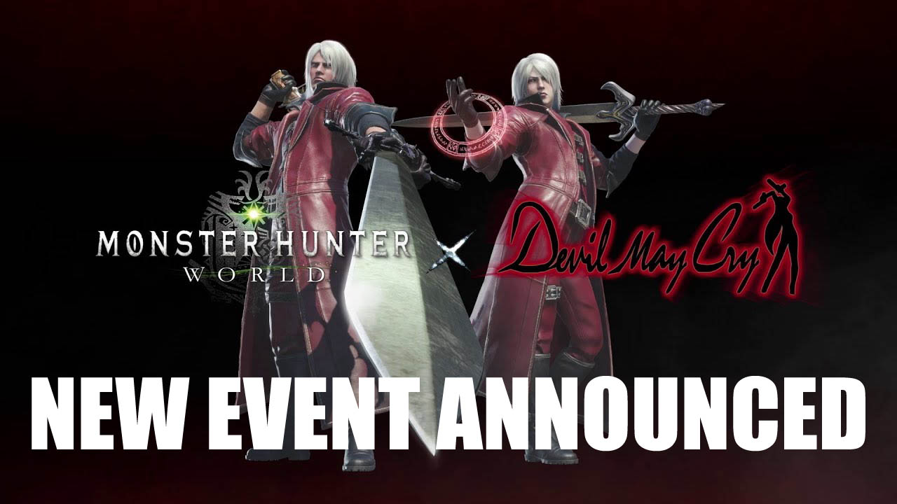 Mhw Newest Collaboration Dante From Devil May Cry Fextralife
