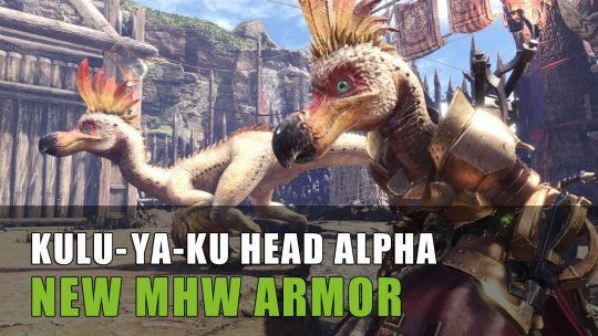 Monster Hunter World: Kulu-Ya-Ku Event Head Armor