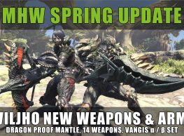 MHW: Spring Update 2.00, Deviljho Armor & Weapons