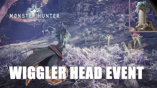 MHW: The Wiggler Head Armor via New Event