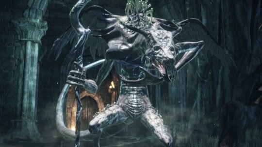 Dark Souls III : Versions alpha d'Ocelotte & Oceiros