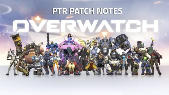 Overwatch's March 24th PTR Patch Notes