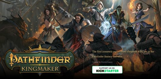 Rule the kingdom your way in Pathfinder: Kingmaker