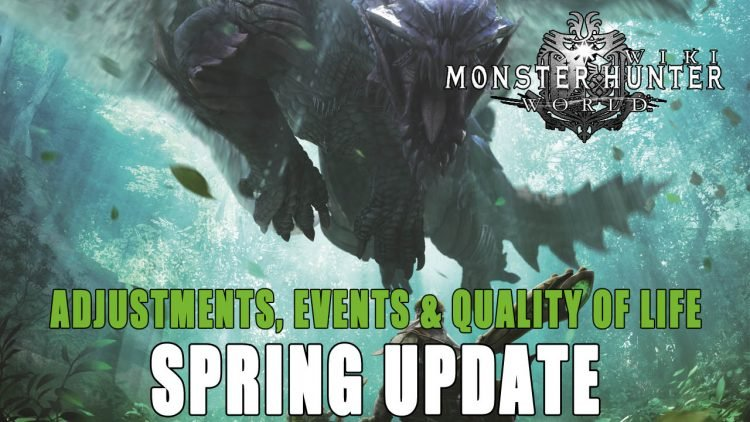 Monster Hunter World: Spring Update, Upcoming Events and More!