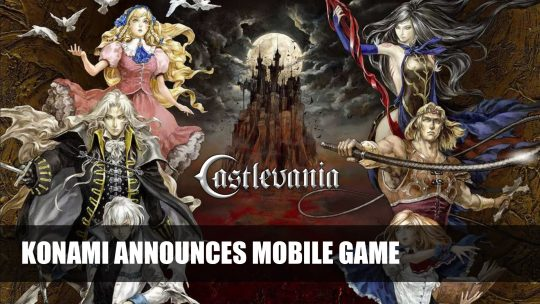Konami Announces Castlevania Multiplayer Mobile Game