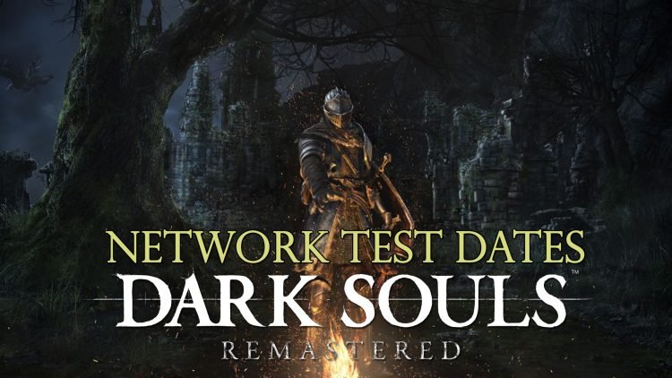 Dark Souls Remastered Announces Network Test Dates