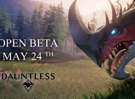 Dauntless Open Beta Starts May 24th