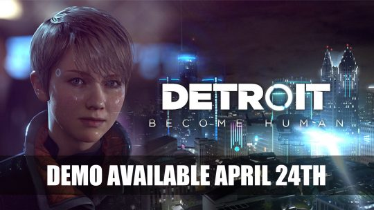 Free Demo on PS4 Exclusive Detroit: Become Human Has Gone Gold