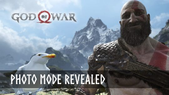 God of War Reveals Photo Mode – Kratos Can Smile