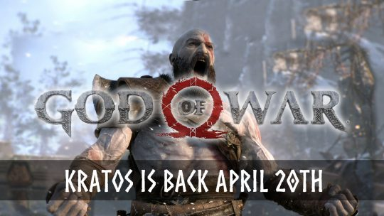God of War Returns With Kratos April 20th