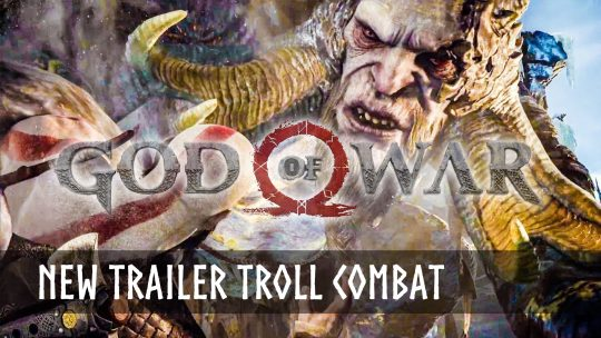 God of War New Trailer – We're Not Trolling You