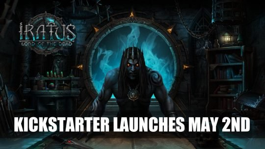 Iratus: Lord of the Dead A Dark Fantasy RPG is Launching a Kickstarter Campaign
