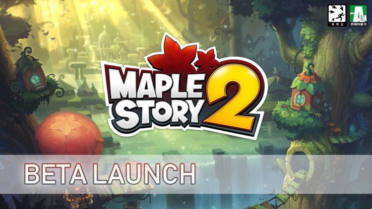 MapleStory 2 International Beta Launch