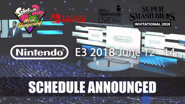 Nintendo Share Plans for E3 2018