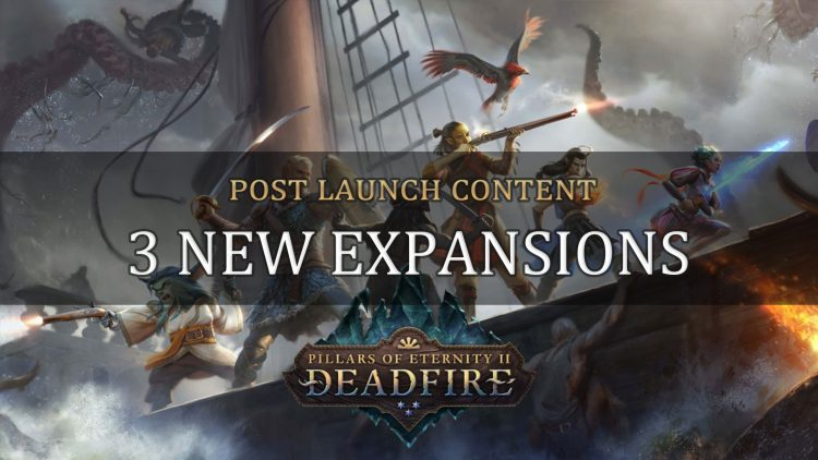 Pillars of Eternity II: Deadfire Post Launch Content Revealed