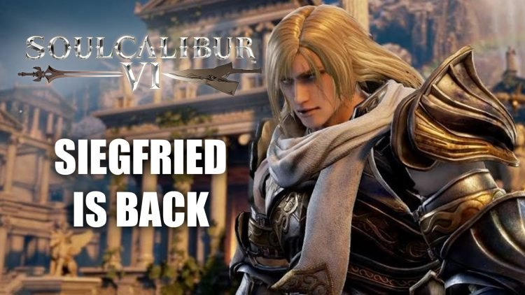Siegfried Joins Soulcalibur 6