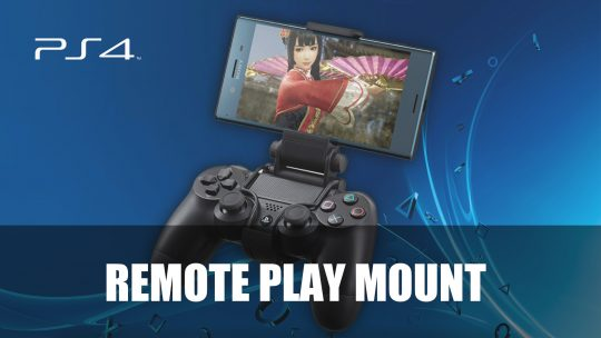 Sony Shares New XMount Accessory for PS4 Remote Play on Smartphones