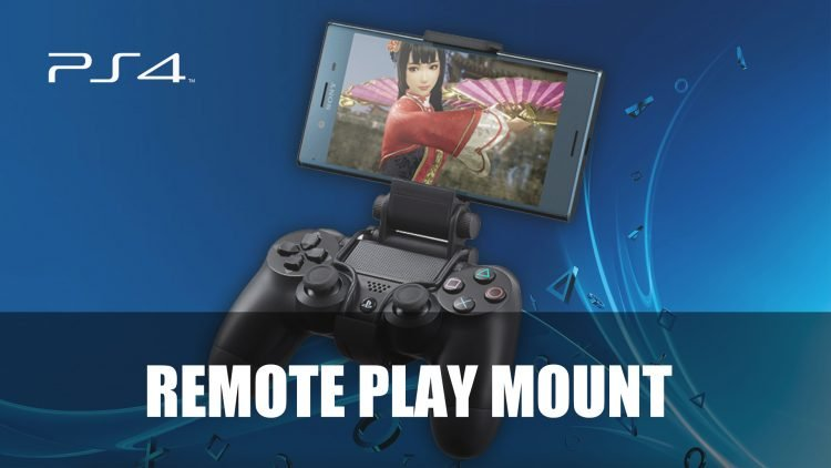 Sony Shares New XMount Accessory for PS4 Remote Play on