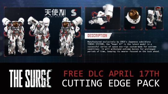 The Surge New DLC – Cutting Edge Pack